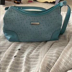 Blue Rosetti bag
